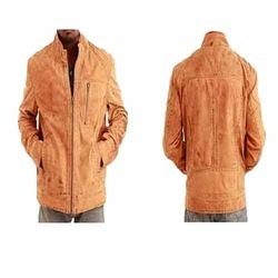 Mens Attractive Color Leather Jacket