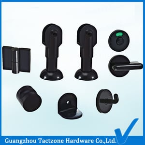 Plastic and Nylon Bathroom Cubicle Partition Hardware Fittings
