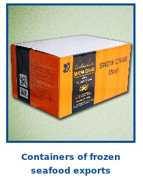 Frozen Seafood Packaging Box