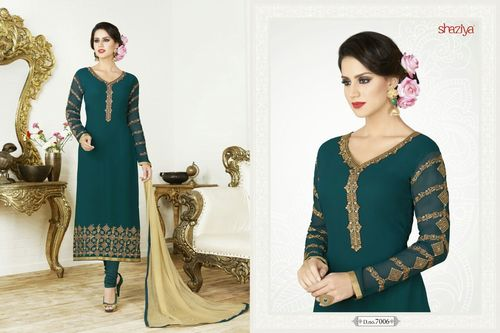 Traditional Unstitched Ladies Suit