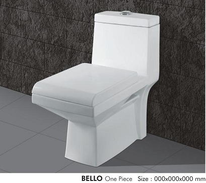 Bello One Piece Water Closet in   At Bela