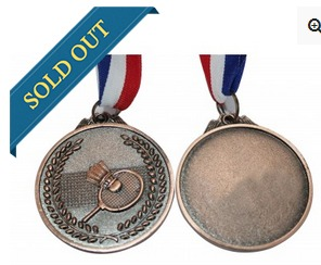 Big Badminton Bronze Medal