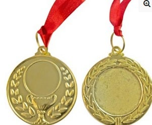 Cup Gold Medal