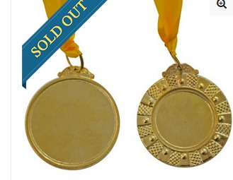 Heavy Broad Gold Medal