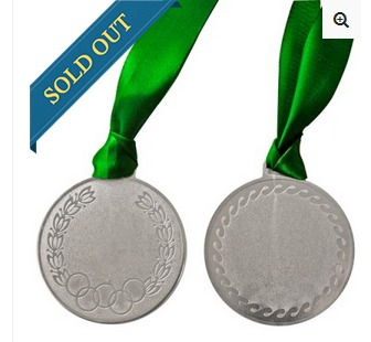 Heavy Olympic Silver Medal