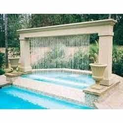 Modern Rain Fountain