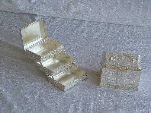 Silver Folding Box