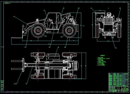 Rice combine harvester blueprint in xianggang xianggang crane tth2560 forklift set of blueprint malvernweather Image collections