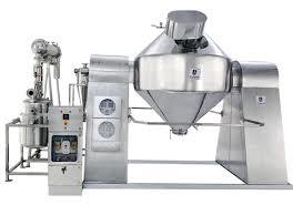 Rotocone Vacuum Dryer With Lump Breaker
