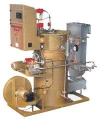 Vertical Coil Type Steam Boiler