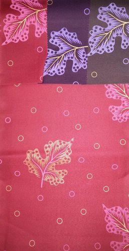 Satin Gold Print Fabrics
