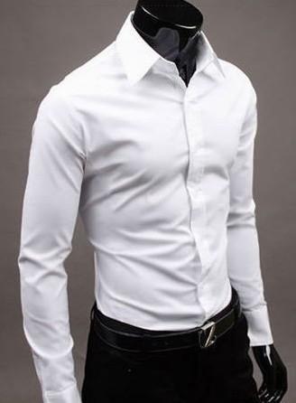 Mens Cotton White Semi Formal Shirts in   Miraj