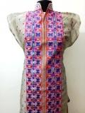 Designer Ladies Long Silk Kurtis