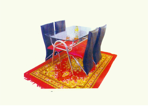 Glass Top Dining Table Set in  Santragachi