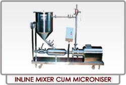 Inline Mixture Cum Microniser