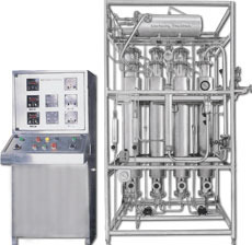 Multi Column Distillation With Grundfos Pump