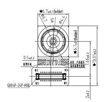 OV8856 Sensor FF 8M Pixel MIPI CSI 1080P Sunny Brand D8V10J CMOS