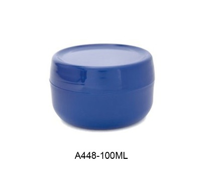 Plastic Cosmetic Cream Jars 100ml