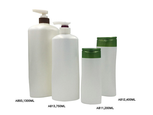 Robust Plastic Shampoo Bottles With Pump