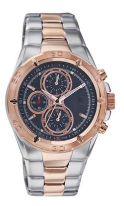 Golden Analog Wrist Watch