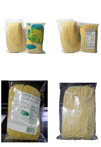 Tasty Yellow Chinese Noodles