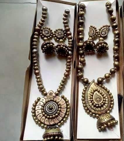 Terracotta Antique Necklace Sets in  Hiranandani Estate-Patlipada-Thane (W)