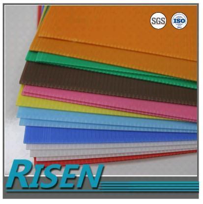 picture relating to Printable Plastic Sheets named UV Printable Lightfast Rigid PP Coroplast Plastic Sheets inside