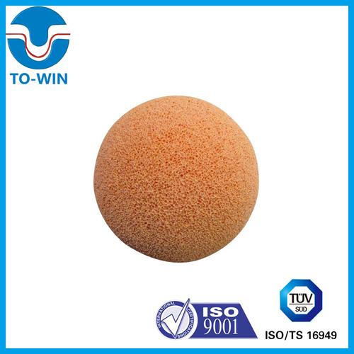 DN125 Hard Medium Soft Concrete Pump Rubber Sponge Ball