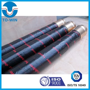Steel Wire Reinforced Concrete Pump Rubber Delivery Hose for Putzmeister Schwing