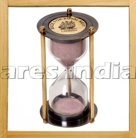 5 Minute Brass Working Sand Timer