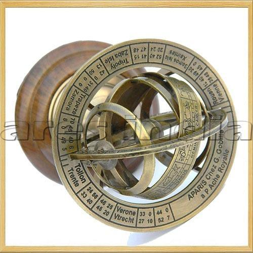 Nautical Armilary Brass Globes