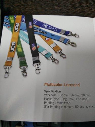 Multicolor Lanyards