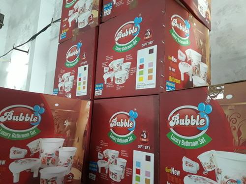 Bubble Bathroom Plastic Buckets in  Palda