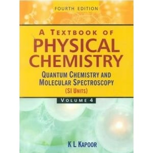 A Textbook of Physical Chemistry Vol Paperback Book