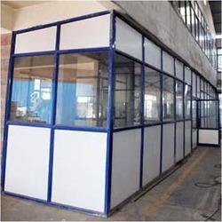 Aluminium Partitions in   Opp. Chodankar Hospital Factory- Betoda Industrial Estate