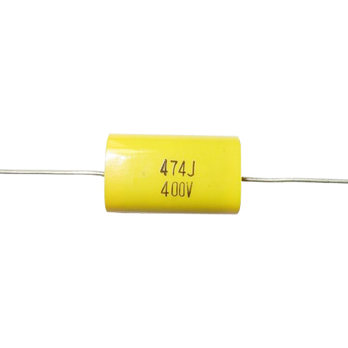 Axial Metallized Polyester Film Capacitors