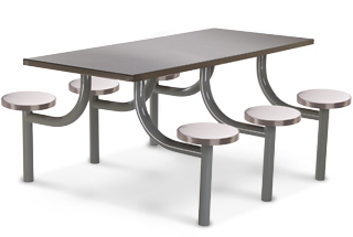 Customized Designed Canteen Table