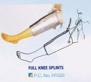 Full Knee Splints
