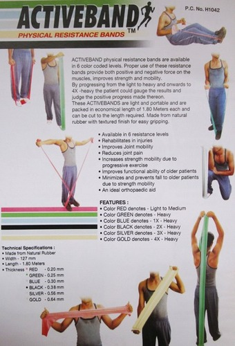 Physical Resistance Bands