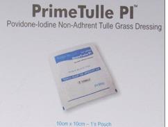 Povidone Iodine Non Adherent Grass Dressing