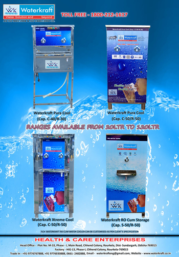 Waterkraft Water Purifiers Cum Cooler in   CHHEND COLONY