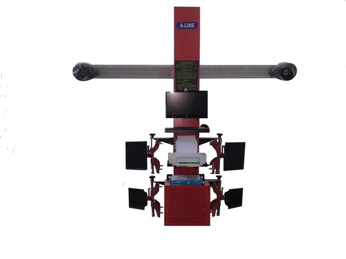 3d Garage Wheel Alignment Machines