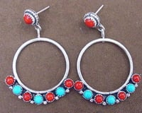 Designer And Fashionable Silver Earrings