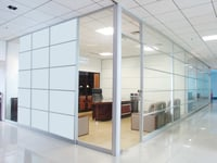 Fixed Glass Partition
