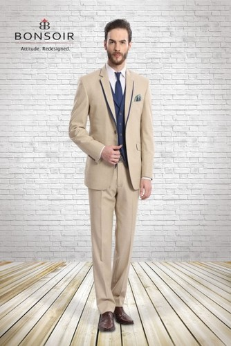 Demanded Blended Designer Suit