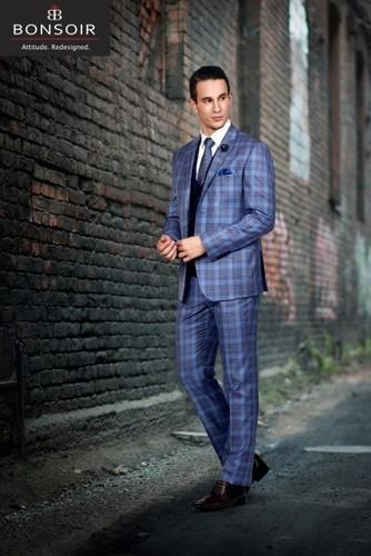 Mens Demanded Regular Fit Suit