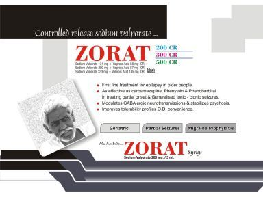 Zorat 500 CR Tablet - Daksh Pharmaceutical Pvt  Ltd , S C O