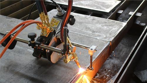 Semi-Auto Flame Cutting Machine With Single Phase