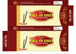 All In One Perfumed Incense Sticks