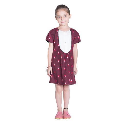 Maron Yoke Kids Dress